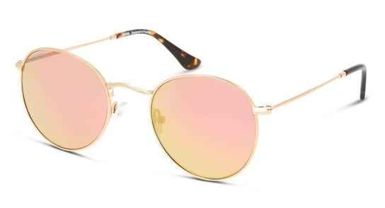 UNSU0050 Unisex Sunglasses Pink / Gold