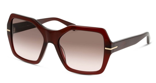 SY SF0009 Women's Sunglasses Brown / Burgundy