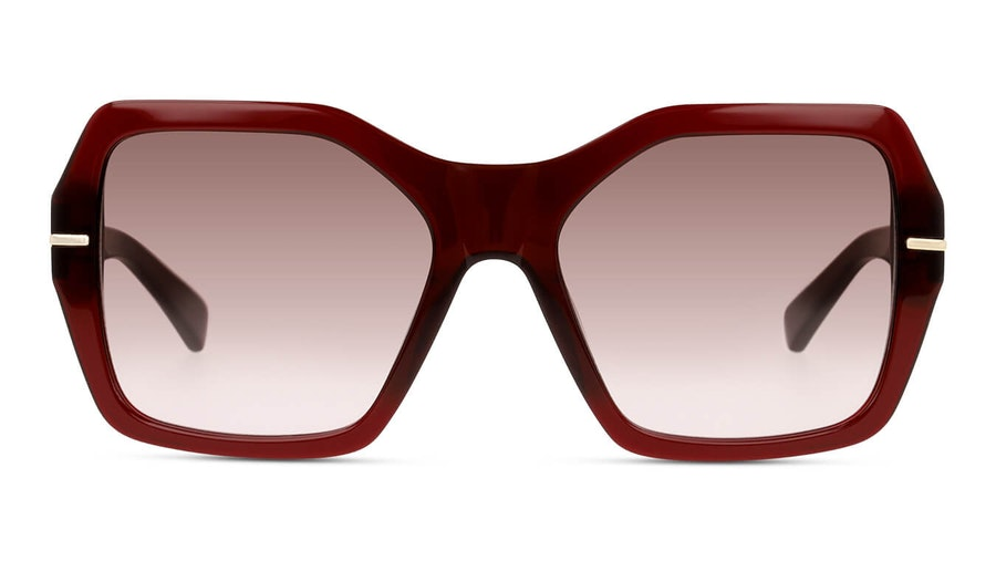 Sensaya SY SF0009 Women's Sunglasses Brown / Burgundy