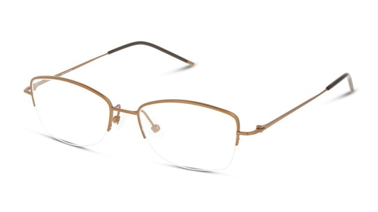HE OF5014 Women's Glasses Transparent / Bronze