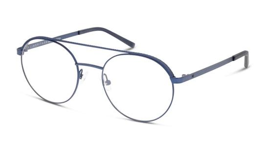 HE OM0047 Men's Glasses Transparent / Blue