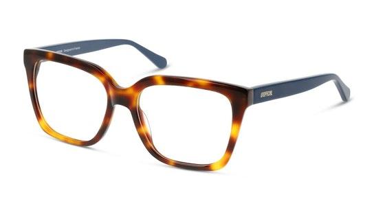 UNOF0203 Women's Glasses Transparent / Havana