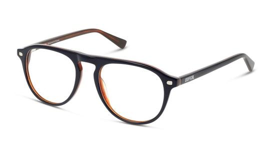 UNOM0157 Men's Glasses Transparent / Navy
