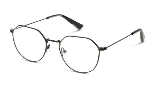 UNOT0078 (BB00) Children's Glasses Transparent / Black