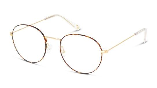 UNOF0065 Women's Glasses Transparent / Havana