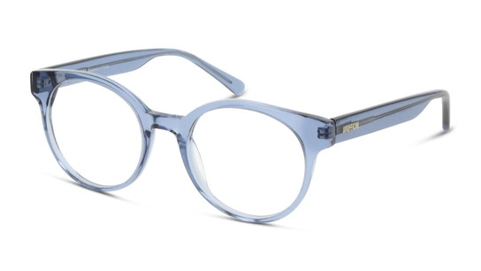 UNOF0313 Women's Glasses Transparent / Blue