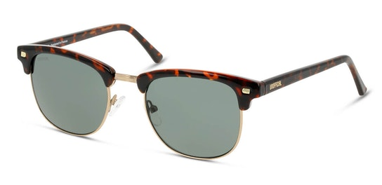 UNSM0101 Unisex Sunglasses Green / Gold