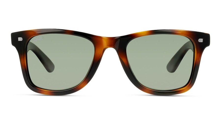 Unofficial UNSU0083P Unisex Sunglasses Green / Tortoise Shell