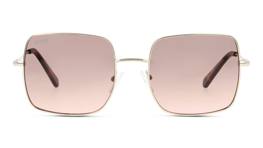 Unofficial UNSU0078 Men's Sunglasses Brown / Gold