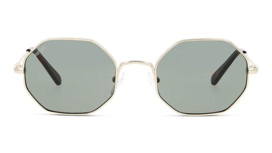 UNSU0080 Unisex Sunglasses Green / Gold