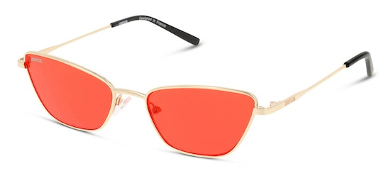 UNSF0136 Women's Sunglasses Red / Gold