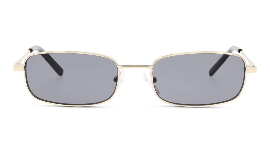 Unofficial UNSU0087 Unisex Sunglasses Grey / Gold