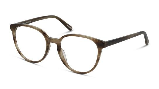 DB OF5045 Women's Glasses Transparent / Brown