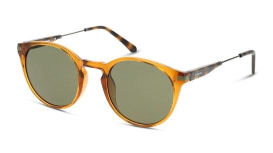 CKJ 20701SGV Men's Sunglasses Green / Tortoise Shell