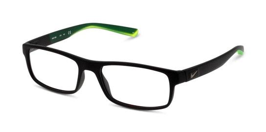 7090 Men's Glasses Transparent / Black