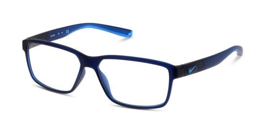 7092 Men's Glasses Transparent / Blue