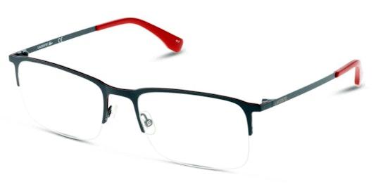 L2241 Men's Glasses Transparent / Grey