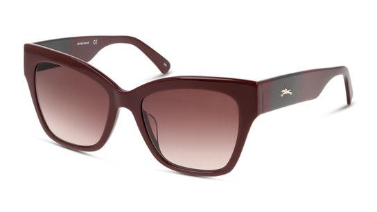 LO 650S Women's Sunglasses Burgundy / Burgundy