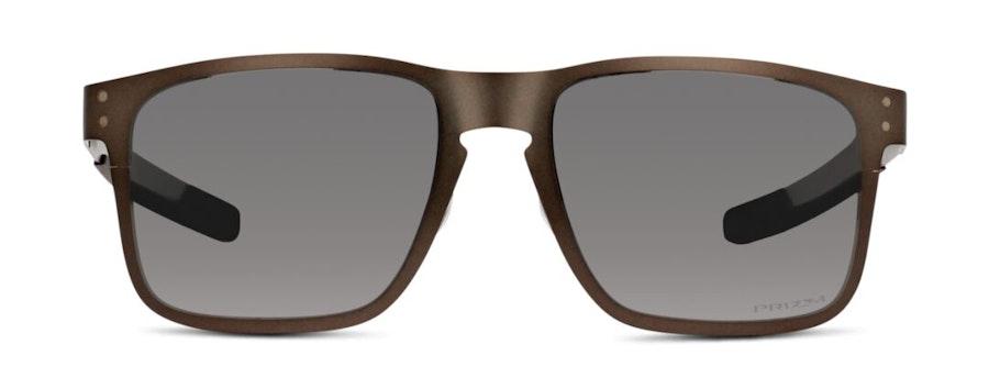 Oakley Holbrook Metal OO 4123 Men's Sunglasses Silver / Grey