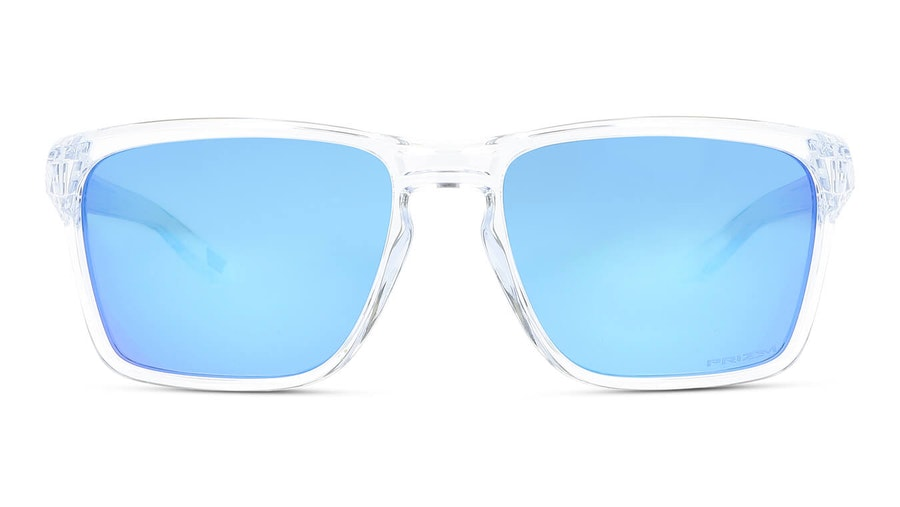 Oakley Sylas OO 9448 Men's Sunglasses Blue / Transparent