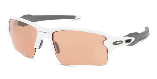Flak 2.0 XL OO 9188 Men's Sunglasses Violet / White