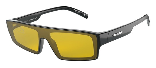 Syke AN 4268 (41/AN) Sunglasses Yellow / Black