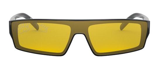 Syke AN 4268 Unisex Sunglasses Yellow / Black