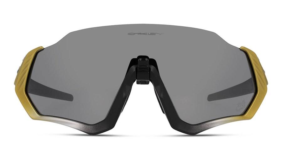 Oakley Flight Jacket OO 9401 (940122) Sunglasses Grey / Black