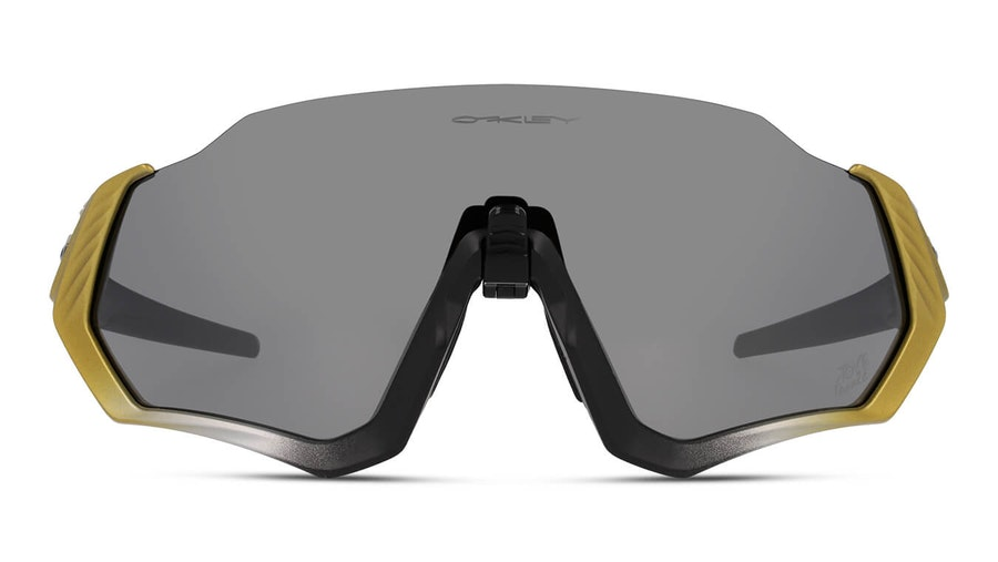Oakley Flight Jacket OO 9401 Men's Sunglasses Grey / Black