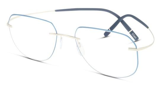 TMA Icon Accent Rings 5518 Men's Glasses Transparent / Blue