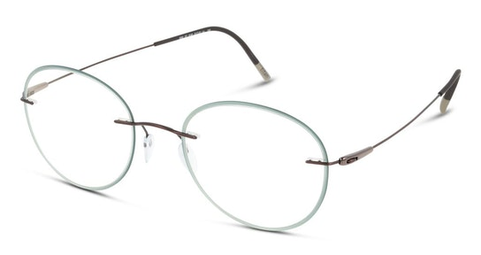 5500 Men's Glasses Transparent / Green
