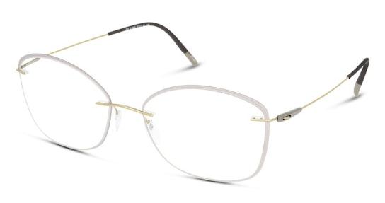 5500 Women's Glasses Transparent / Gold