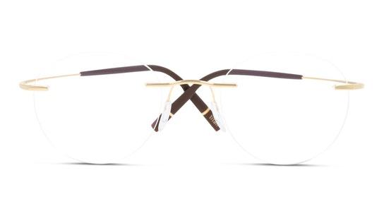 TMA Icon 5541 Women's Glasses Transparent / Gold