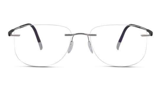 5540 Men's Glasses Transparent / Silver