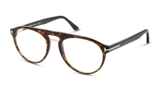 FT 5587-B (052) Glasses Transparent / Tortoise Shell