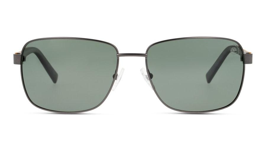 Timberland TB 9196 (09R) Sunglasses Green / Grey
