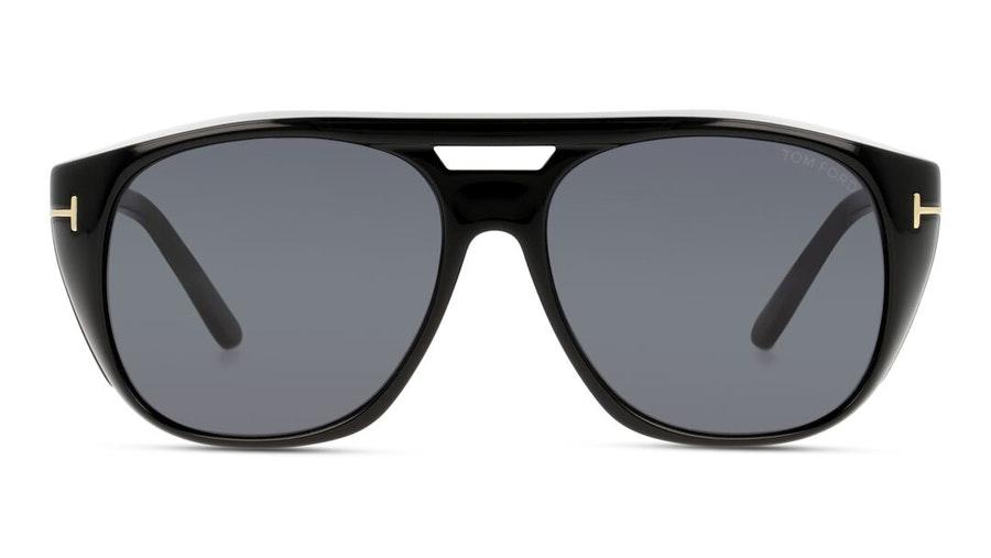 Tom Ford Fender FT 799 (01A) Sunglasses Blue / Black