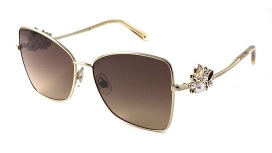 SK 0277 Women's Sunglasses Brown / Gold