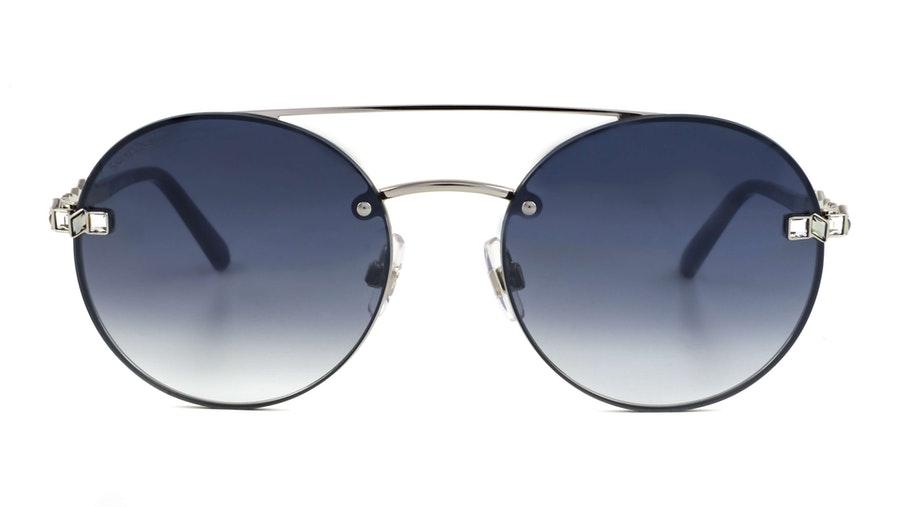 Swarovski SK 0283 (16C) Sunglasses Grey / Silver