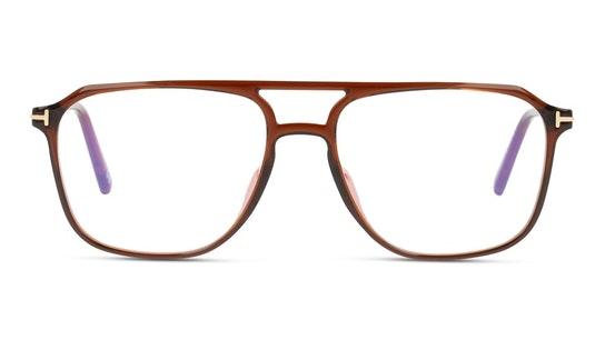 FT 5665-B (048) Glasses Transparent / Brown