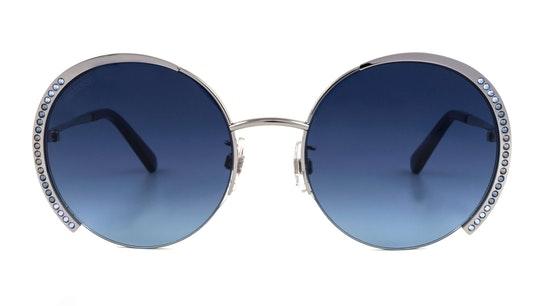 SK 0280 Women's Sunglasses Blue / Silver