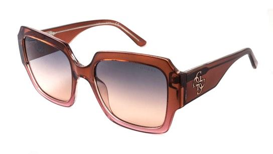 GU 7681 Women's Sunglasses Grey / Brown