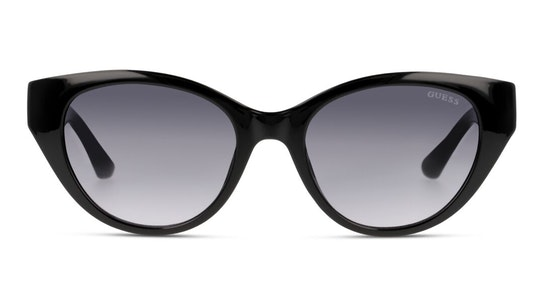 GU 7690 (01B) Sunglasses Grey / Black