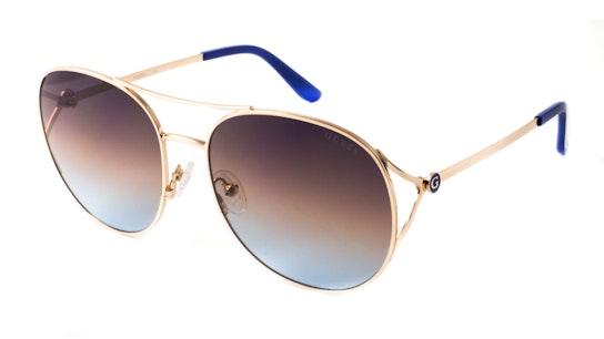 GU 7686 Women's Sunglasses Blue / Gold