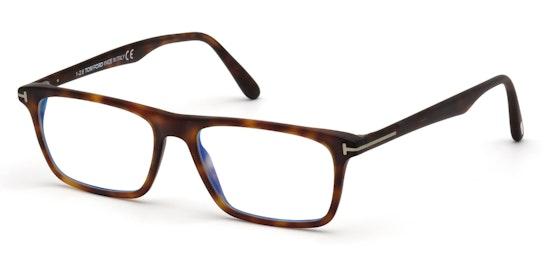 FT 5681-B (054) Glasses Transparent / Red