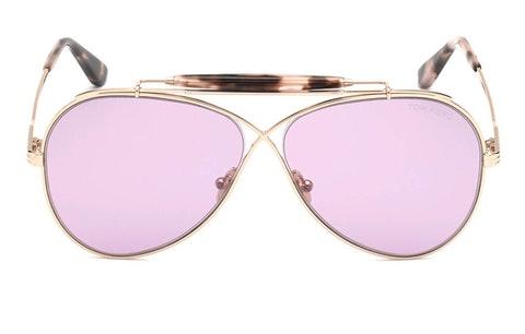 Holden FT 818 (28Z) Sunglasses Violet / Rose Gold
