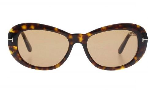 Elodie FT 819 (52E) Sunglasses Brown / Havana