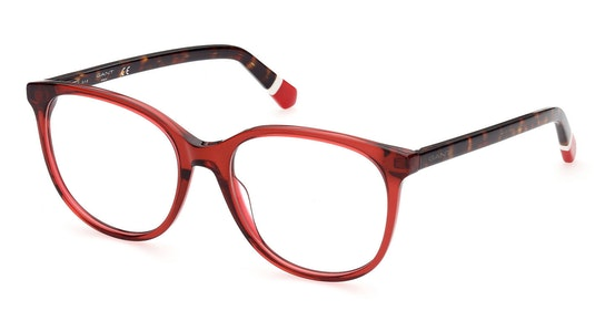 GA 4107 Women's Glasses Transparent / Red