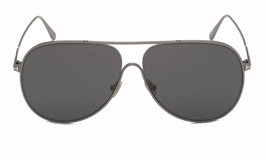 Tom Ford Alec FT 824 (12C) Sunglasses Grey / Silver