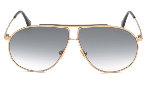 Riley-02 FT 825 (28B) Sunglasses Grey / Rose Gold